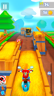 Get Ghost! Stunt Bike Runner- screenshot thumbnail