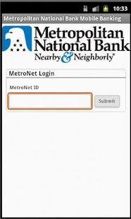 Metropolitan National Bank - screenshot thumbnail