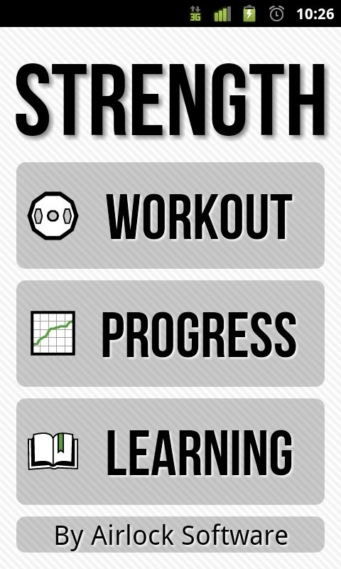 Strength: Fitness & Exercise- screenshot