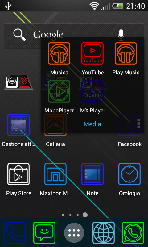 how to set scrolling wallpaper adw launcher 2