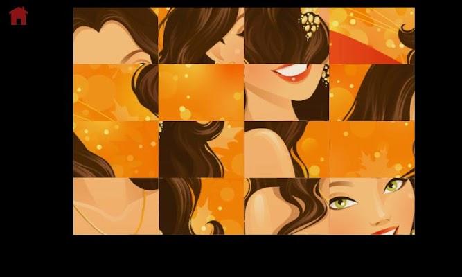 Puzzle stars for girls - screenshot