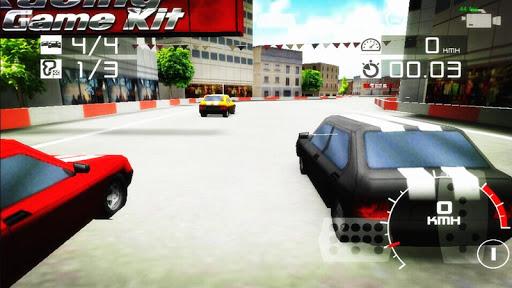 レーシングカー - スーパードライビング3D