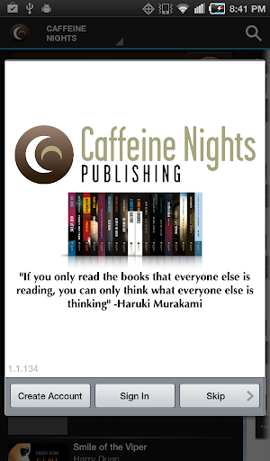 Caffeine Nights Books