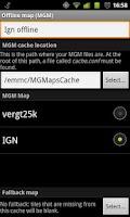 Screenshot of MyTrails Pro License