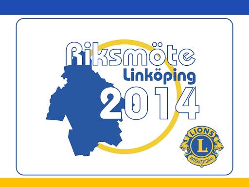 Sveriges Lions Riksmöte 2014