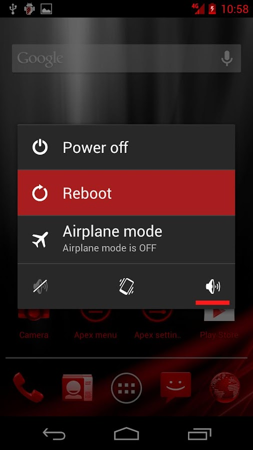 Red Blast CM9/AOKP/GUMMY Theme - screenshot