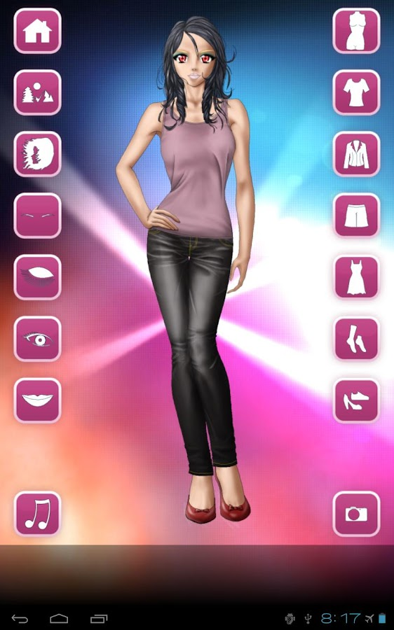 Style Dress Up: Girls - screenshot