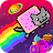 Nyan Cat: The Space Journey logo