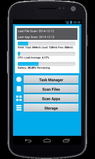 Antivirus Mobile Security Scan
