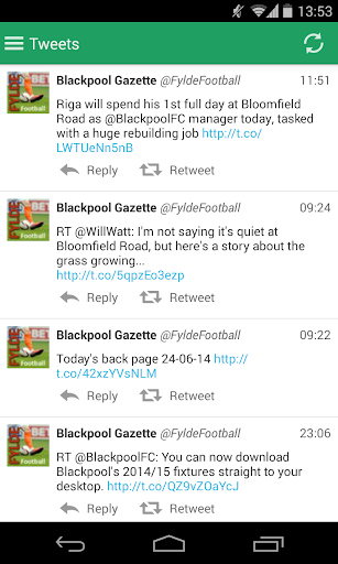 【免費運動App】Blackpool Gazette Football App-APP點子