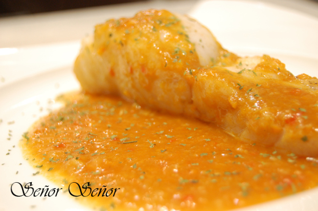 Hake with an Anchovy Vegetable Sauce Recipe