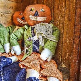 Punkin Head by Vivian Gordon - Public Holidays Halloween ( holiday, craft, pumpkin, halloween,  )