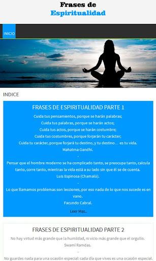 Frases de espiritualidad