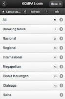 Screenshot of Berita Indonesia