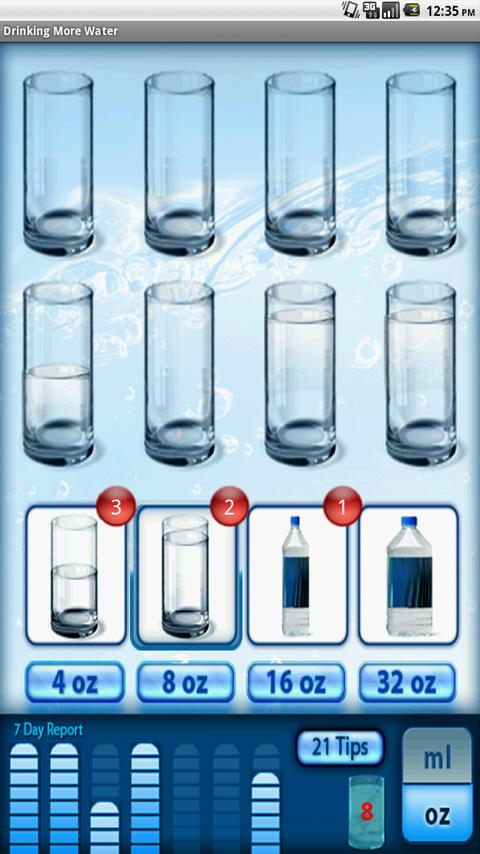 Drink More Water- screenshot