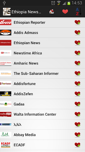 Ethiopia Newspapers And News