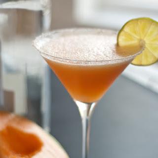 Cantaloupe Fiesta Cocktail.