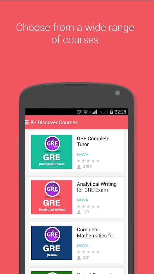 GRE Exam Prep- screenshot