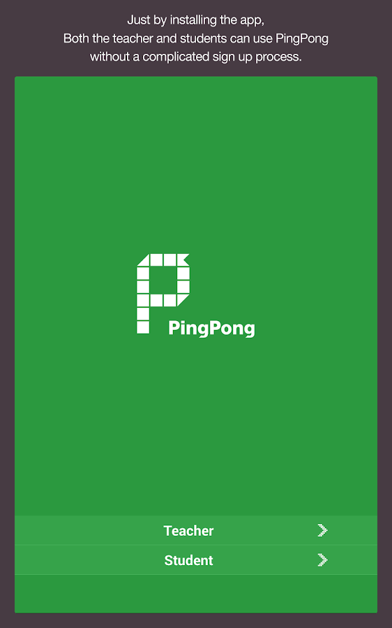 PingPong - Smart Clikers - screenshot