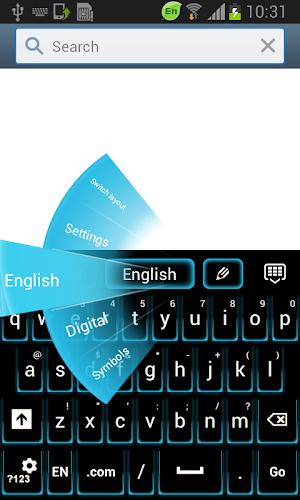 Fancy Neon Keyboard apk screenshot