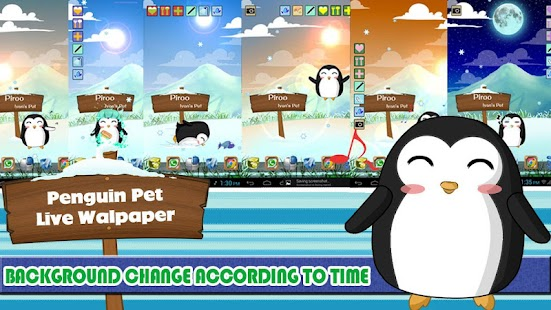 玩個人化App|Penguin Pet Live Wallpaper免費|APP試玩