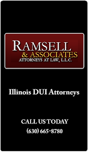 Ramsell & Associates DUI App- screenshot thumbnail