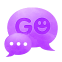 GO SMS Theme Purple Violet icon