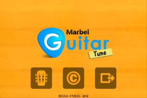 Marbel Guitar Tune - screenshot