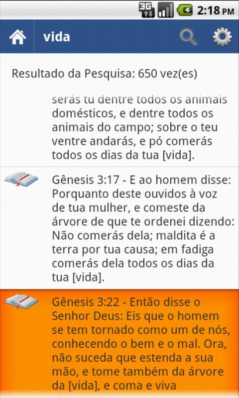 Bíblia Sagrada Almeida- screenshot