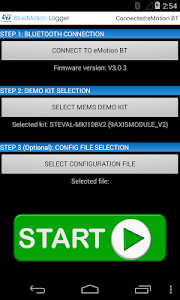 BlueMotion Logger screenshot 1