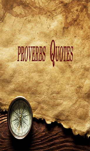 proverbs Quotes