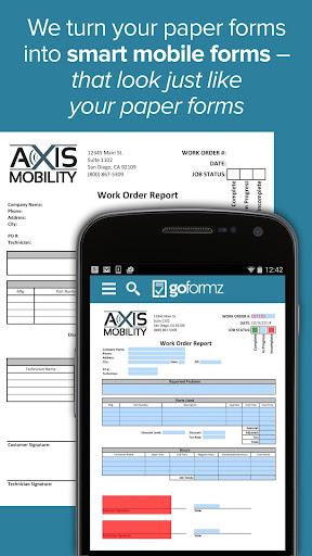 GoFormz Mobile Forms Reports