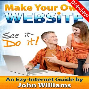Make Your Own Website Preview