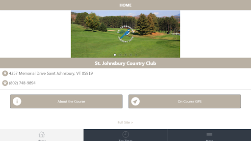 St Johnsbury Country Club