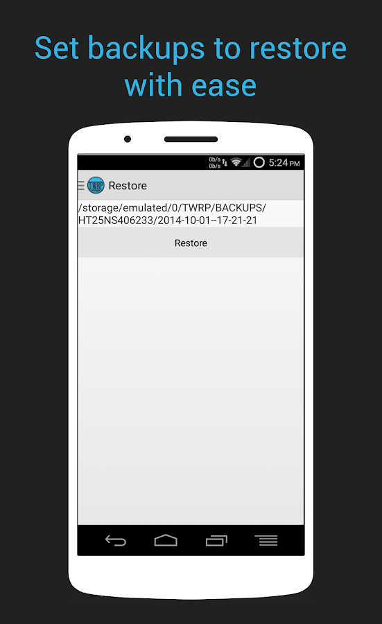 TWRP Manager  (ROOT)- screenshot