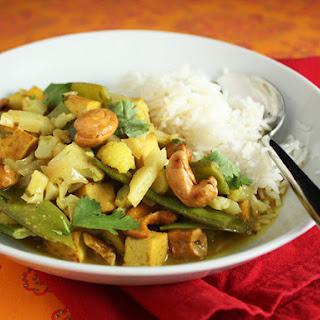 Cauliflower And Cashew Curry Recipes.