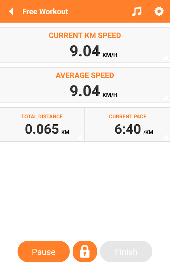 Everywhere Sport Run GPS Track - screenshot