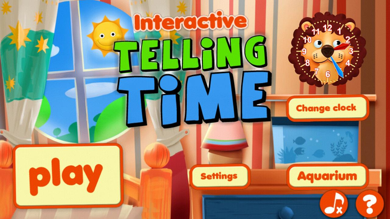 Interactive Telling Time HD - screenshot