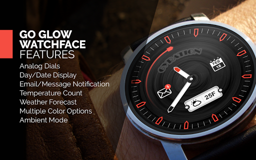 Go Glow Watch Face