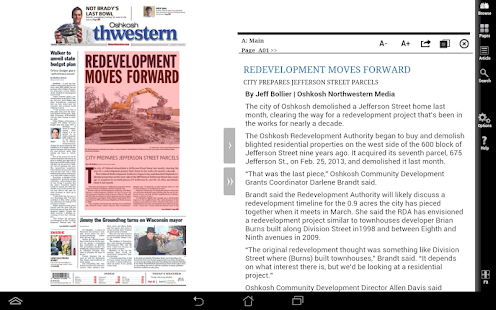 Northwestern Print Edition- screenshot thumbnail