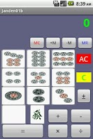 Screenshot of Janden01 Calculator