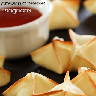 BAKED Cream Cheese Rangoons.