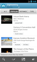 Screenshot of Kansas Travel Guide by Triposo