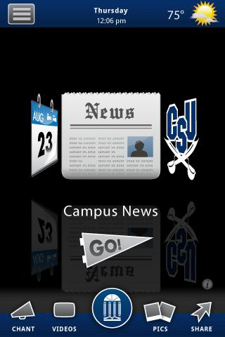 Charleston Southern University - screenshot