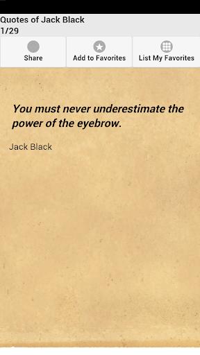 Quotes of Jack Black