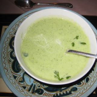 Zucchini and Cilantro Soup