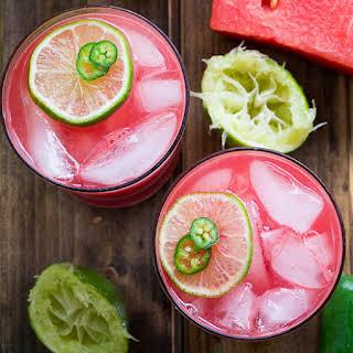 Jalapeno Watermelon Margarita.