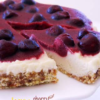 Lemon Cherry Cheesecake.