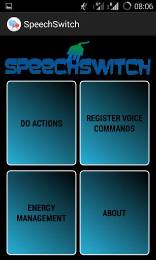 SpeechSwitch RFDUINO