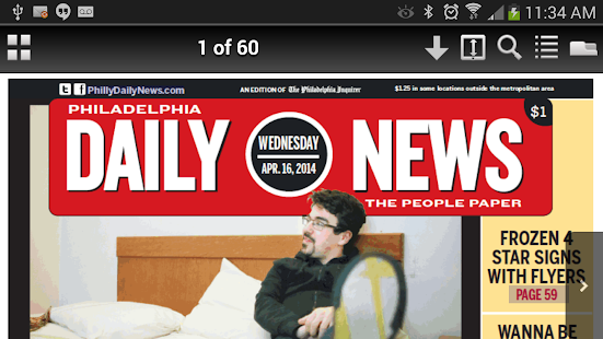 Philadelphia DailyNews Replica- screenshot thumbnail